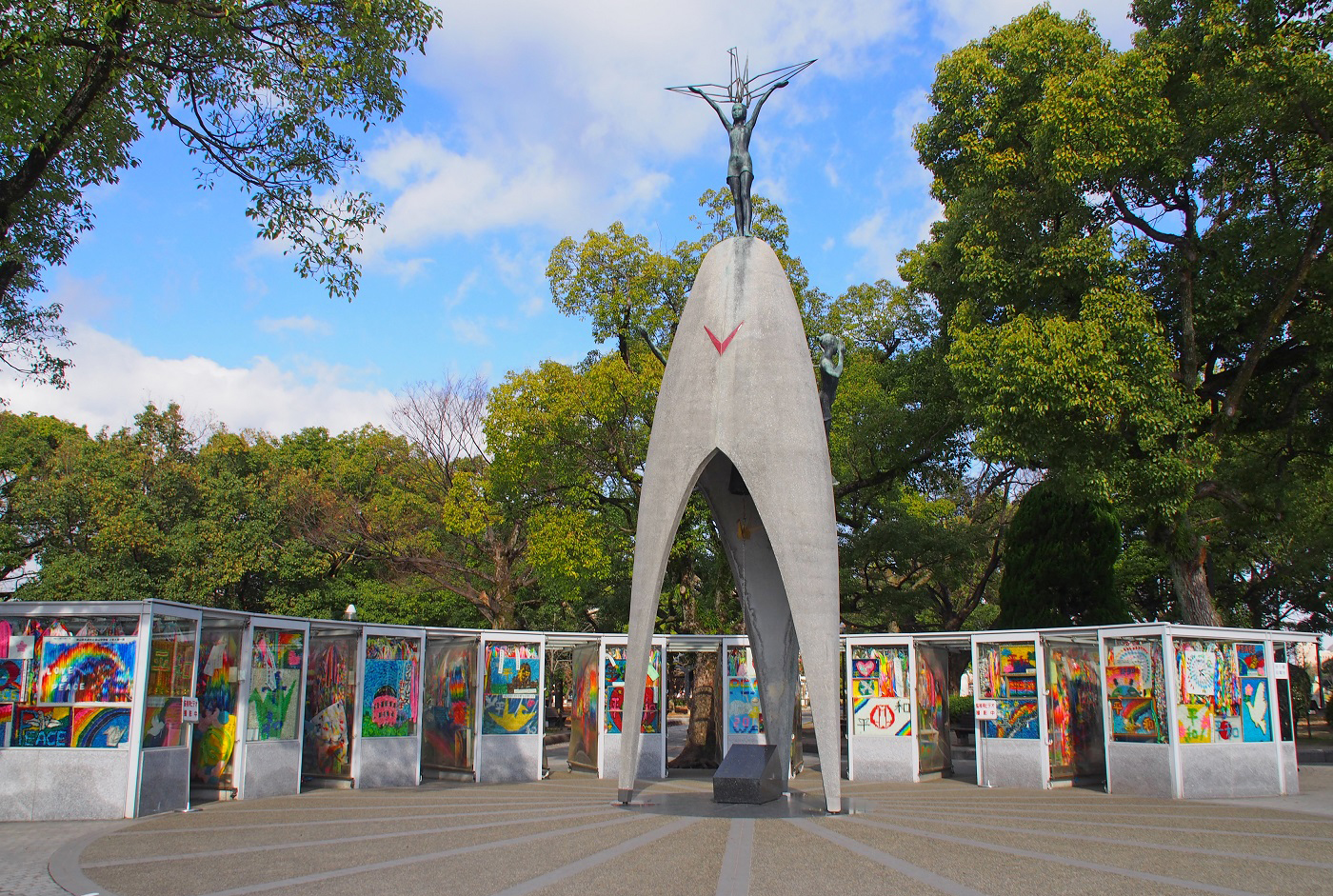 Image result for peace park hiroshima childrens' monument